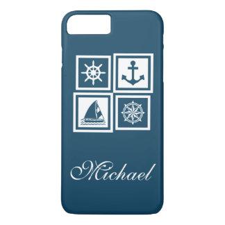 Coque iPhone 8 Plus/7 Plus Conception orientée nautique