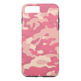 Coque iPhone 8 Plus/7 Plus Conception rose de Camo