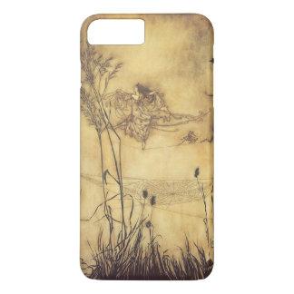 Coque iPhone 8 Plus/7 Plus Conte de fées vintage, Tightrope de la fée par