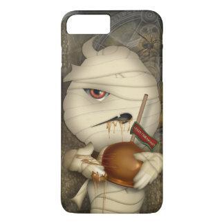 Coque iPhone 8 Plus/7 Plus Costume drôle de Halloween de maman