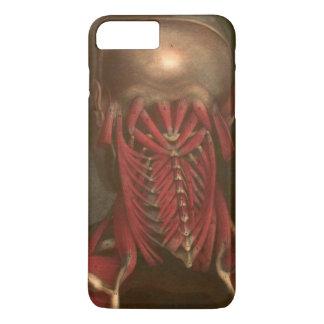 Coque iPhone 8 Plus/7 Plus Cou vintage et épaules de l'anatomie |