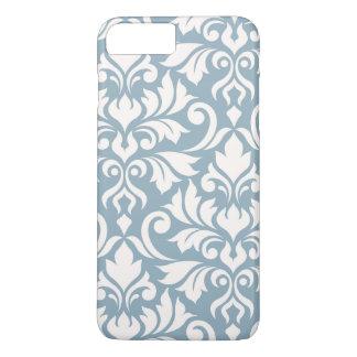 Coque iPhone 8 Plus/7 Plus Crème de l'art I de damassé de Flourish sur le