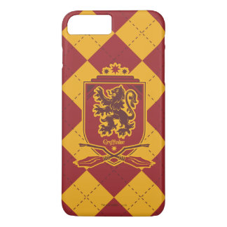 Coque iPhone 8 Plus/7 Plus Crête de Harry Potter   Gryffindor QUIDDITCH™