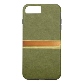 Coque iPhone 8 Plus/7 Plus Cuivre vert de suède et caisse de l'iPhone réunie