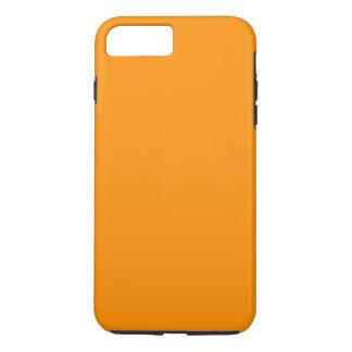 Coque iPhone 8 Plus/7 Plus ~ de PEAU D'ORANGE (couleur fruitée solide)