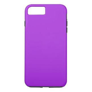 Coque iPhone 8 Plus/7 Plus ~ de POURPRE de PASSION d'ORCHIDÉE (couleur