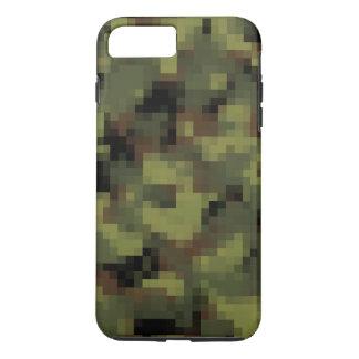 Coque iPhone 8 Plus/7 Plus Digitals vertes Camo militaire