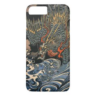 Coque iPhone 8 Plus/7 Plus Dragon en mer