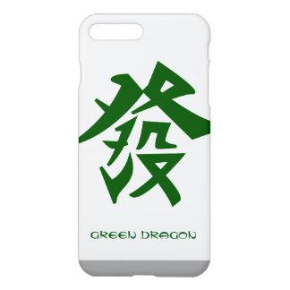 Coque iPhone 8 Plus/7 Plus Dragon vert