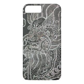 Coque iPhone 8 Plus/7 Plus Dragon vintage de Bangkok