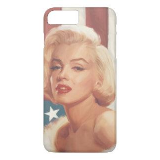 Coque iPhone 8 Plus/7 Plus Drapeau de Marilyn