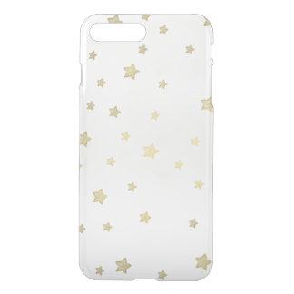 Coque iPhone 8 Plus/7 Plus Étoiles d'or