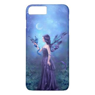 Coque iPhone 8 Plus/7 Plus Fée et dragon iridescents