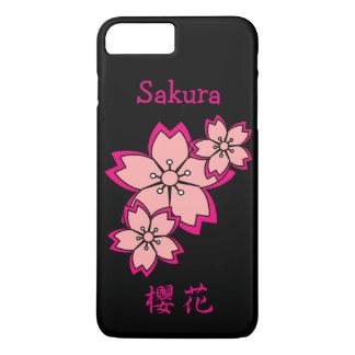 Coque iPhone 8 Plus/7 Plus Fleurs de cerisier