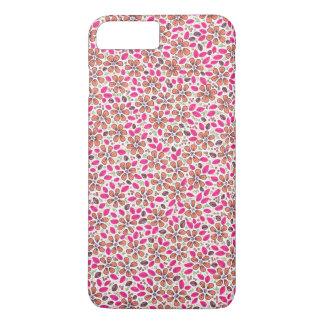 Coque iPhone 8 Plus/7 Plus Fleurs faites main et colorées, florales