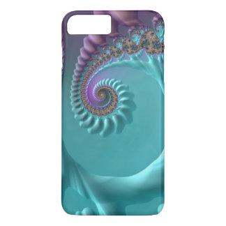 Coque iPhone 8 Plus/7 Plus Fractale de remous d'Aqua