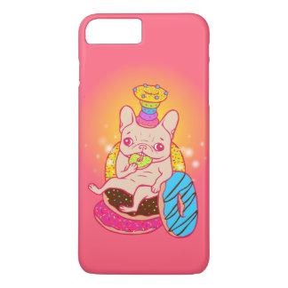 Coque iPhone 8 Plus/7 Plus Frenchie est le roi des beignets