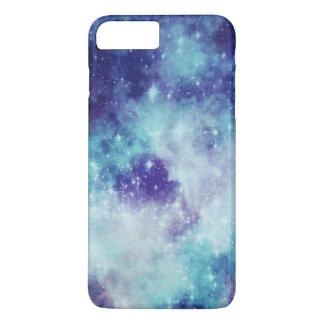 Coque iPhone 8 Plus/7 Plus Galaxie bleue