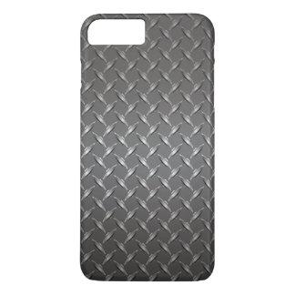 Coque iPhone 8 Plus/7 Plus Grille de gril d'acier inoxydable