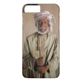 Coque iPhone 8 Plus/7 Plus Guerrier omanais : Photo vintage fraîche