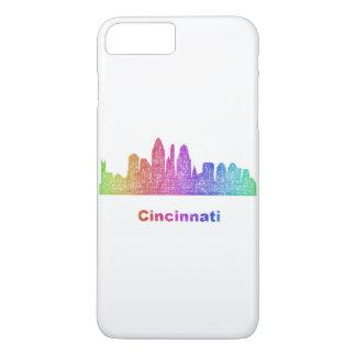 Coque iPhone 8 Plus/7 Plus Horizon de Cincinnati d'arc-en-ciel