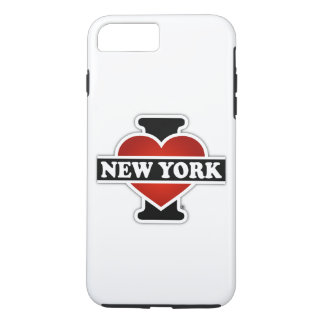 Coque iPhone 8 Plus/7 Plus I coeur New York
