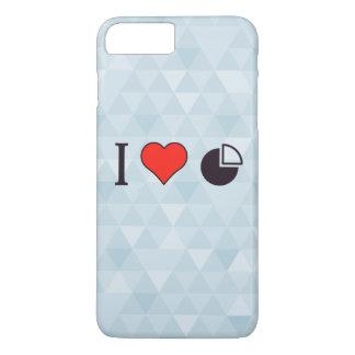 Coque iPhone 8 Plus/7 Plus I statistiques de coeur