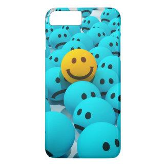 Coque iPhone 8 Plus/7 Plus Image souriante d'amusement de visage