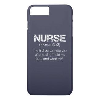 Coque iPhone 8 Plus/7 Plus Infirmière