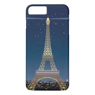 Coque iPhone 8 Plus/7 Plus iPhone 7 de Tour Eiffel plus à peine là