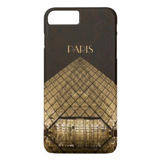 Coque iPhone 8 Plus/7 Plus iPhone X/8/7 de pyramide de Louvre plus à peine là