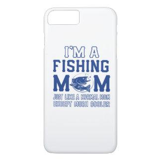 Coque iPhone 8 Plus/7 Plus Je suis une maman de pêche