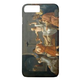 Coque iPhone 8 Plus/7 Plus La mort de Socrates par Jacques-Louis David