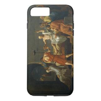 Coque iPhone 8 Plus/7 Plus La mort de Socrates par Jacques-Louis David 1787