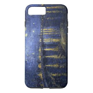 Coque iPhone 8 Plus/7 Plus La nuit étoilée de Van Gogh au-dessus du Rhône
