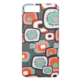 Coque iPhone 8 Plus/7 Plus La rétro fleur de boîte à sushi ajuste le cas fait