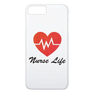 Coque iPhone 8 Plus/7 Plus La vie d'infirmière - cas sale de téléphone de