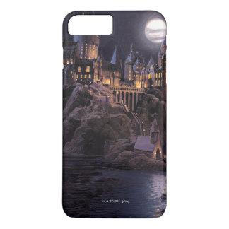 Coque iPhone 8 Plus/7 Plus Lac castle | de Harry Potter grand à Hogwarts
