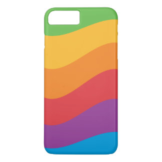 Coque iPhone 8 Plus/7 Plus L'arc-en-ciel colore la caisse d'Apple