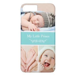 Coque iPhone 8 Plus/7 Plus Le bébé chic chic badine le collage de photo
