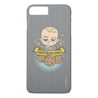 Coque iPhone 8 Plus/7 Plus Le bébé et les biscuits du bébé | de patron sont