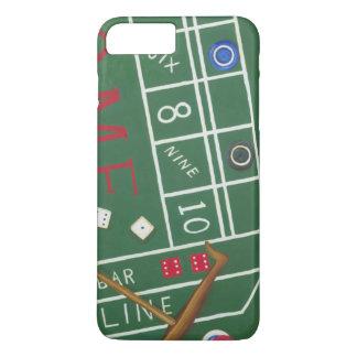 Coque iPhone 8 Plus/7 Plus Le casino chie le Tableau avec des puces et des