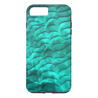 Coque iPhone 8 Plus/7 Plus Le fond bleu de Sandy d'Aqua