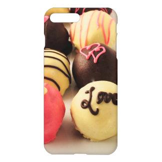 Coque iPhone 8 Plus/7 Plus Le gâteau mord l'amour doux