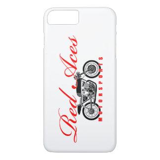 Coque iPhone 8 Plus/7 Plus Le rouge Aces des sports mécaniques, iphone