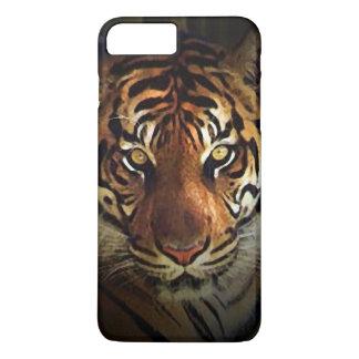 Coque iPhone 8 Plus/7 Plus Le tigre observe le cas plus de l'iPhone 7