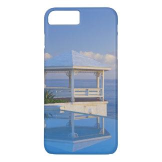 Coque iPhone 8 Plus/7 Plus Les Bahamas, Long Island, belvédère réfléchissant