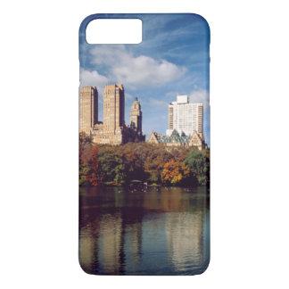Coque iPhone 8 Plus/7 Plus Les Etats-Unis, New York City, Central Park, lac