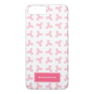 Coque iPhone 8 Plus/7 Plus Les fileurs roses de personne remuante conçoivent