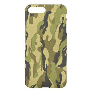 Coque iPhone 8 Plus/7 Plus les militaires camouflent des textures vertes